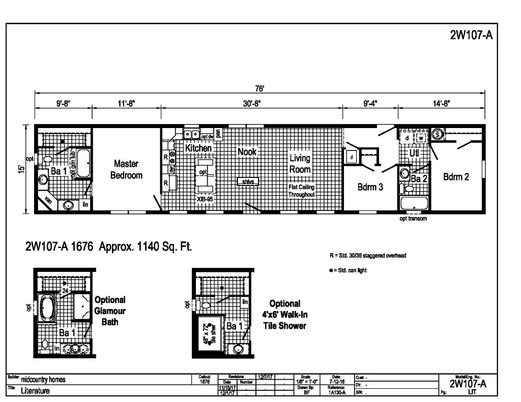 Westlake Single Section - - 2W107A | Find a Home | MidCountry Homes
